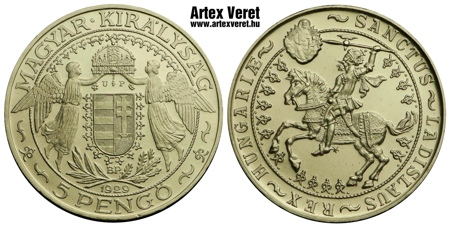 http://www.artexveret.hu/pengo-artex-utanveret/www_artexveret_hu_ezust_lovas-szent-laszlo_1929_up_utanveret_5_pengo.jpg